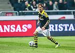 nSolna 2014-03-31 Fotboll Allsvenskan AIK - IFK G&ouml;teborg :  <br /> AIK:s Martin Lorentzson i aktion <br /> (Foto: Kenta J&ouml;nsson) Nyckelord:  AIK Gnaget Solna IFK G&ouml;teborg Bl&aring;vitt portr&auml;tt portrait
