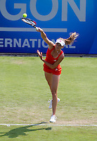 Daniela Hantuchova (SVK) against Anne Keothavong (GBR) in the first round of the women's singles. Daniela Hantuchova beat Anne Keothavong 6-2 6-4..International Tennis - 2010 Sony Ericsson WTA Tour - AEGON International - Devonshire Park Lawn Tennis Centre - Eastbourne - Day 1 - Mon 14 Jun 2010..© FREY - AMN Images - Level 1, 20-22 Barry House, 20-22 Worple Road, London, SW19 4DH.Tel - +44 (0) 208 947 0100.Email - mfrey@advantagemediannet.com.web - www.advantagemedianet.com