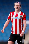Sam Tierney of Sheffield United during the The FA Women's Championship match at the Proact Stadium, Chesterfield. Picture date: 12th January 2020. Picture credit should read: James Wilson/Sportimage