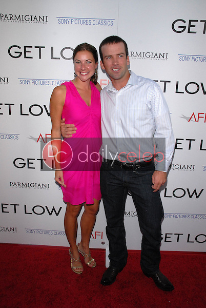 Lucas Black with Maggie Black<br />