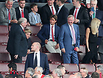 Manchester United's former manager Sir Alex Ferguson looks on during the premier league match at Old Trafford Stadium, Manchester. Picture date 13th August 2017. Picture credit should read: David Klein/Sportimage