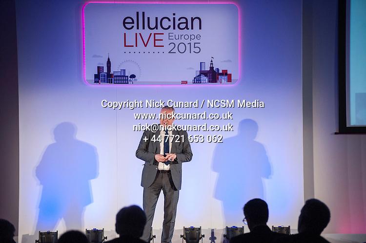 Ellucian LIVE 28th April  Milennium Gloucester Hotel London