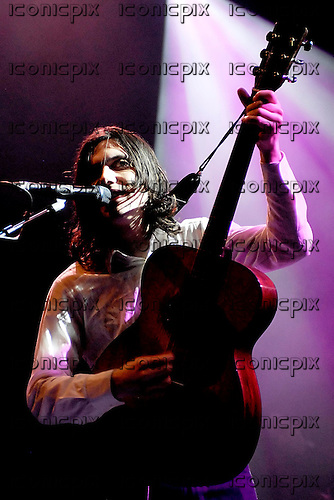 Bright Eyes - vocalist and guitarist Conor Oberst performing live at Koko in Camden London UK - 16 Mar 2007.  Photo by: George Chin/IconicPix