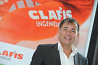 SCHAATSEN: HEERENVEEN: 23-09-2014, Perspresentatie Team Clafis, Directeur Clafis/Sponsor Bert Jonker, ©foto Martin de Jong