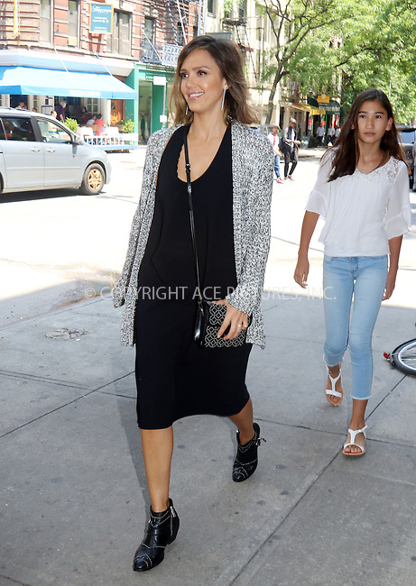 WWW.ACEPIXS.COM<br /> <br /> June 9 2015, New York City<br /> <br /> Actress Jessica Alba went shopping with friends in Soho on June 9 2015 in New York City<br /> <br /> By Line: Philip Vaughan/ACE Pictures<br /> <br /> ACE Pictures, Inc.<br /> tel: 646 769 0430<br /> Email: info@acepixs.com<br /> www.acepixs.com