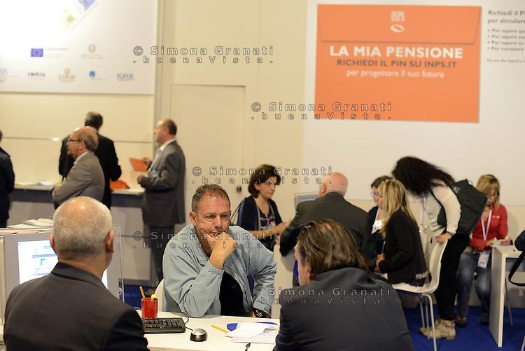 Roma, 27 Maggio 2015<br /> Forum Pa 2015<br /> Il padiglione INPS<br /> 26&deg; mostra convegno dell'innovazione nella Pubblica amministrazione e nei sistemi territoriali.