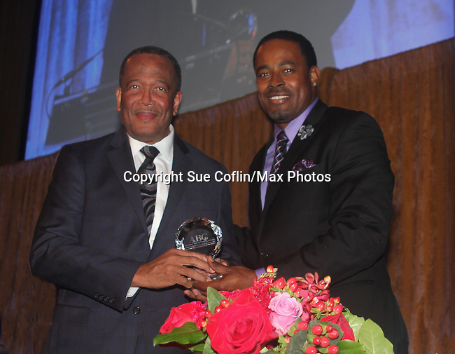 As The World Turns' Lamman Rucker is Master of Ceremonies at the 7th Annual Spirit of the Heart Awards - Dinner for the Association of Black Cardiologists honoring Dr. Vincent Robinson on behalf of the medical College of Georgia on October 1, 2016 at Cipriani 42nd Street, New York City, New York. (Photo by Sue Coflin/Max Photos)