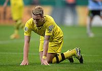 FUSSBALL   DFB POKAL 2. RUNDE   SAISON 2013/2014 TSV 1860 Muenchen - Borussia Dortmund         24.09.2013 Marco Reus (Borussia Dortmund) am Boden