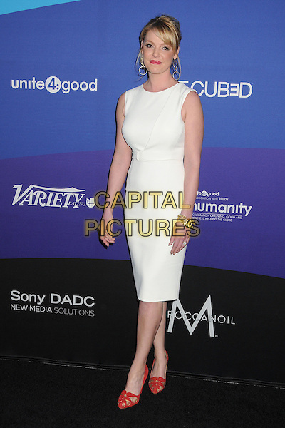 27 February 2014 - Culver City, California - Katherine Heigl. Unite4:good and Variety Magazine Present &quot;Unite4:humanity&quot; held at Sony Pictures Studios. <br /> CAP/ADM/BP<br /> &copy;Byron Purvis/AdMedia/Capital Pictures