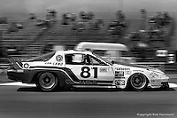 LE MANS, FRANCE: The Chevrolet Camaro of Gene Felton and Billy Hagan finished second in the IMSA GTO category during the 24 Hours of Le Mans on June 20, 1982, at Circuit de la Sarthe in Le Mans, France.