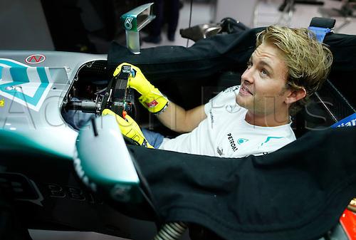 20.09.2013. Singapore. FIA Formula One World Championship 2013, Grand Prix of Singapore, <br /> #9 Nico Rosberg (GER, Mercedes AMG Petronas F1 Team),