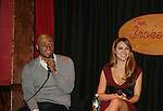 All My Children's J.R. Martinez - Chrishell Stause came to see fans on November 22, 2009 at the Brokerage Comedy Club & Vaudeville Cafe, Bellmore, NY for a Q & A, autographs and photos. (Photo by Sue Coflin/Max Photos)