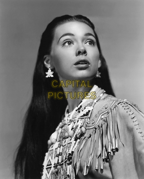 Barbara Rush<br /> in Taza, Son of Cochise (1954) <br /> *Filmstill - Editorial Use Only*<br /> CAP/NFS<br /> Image supplied by Capital Pictures