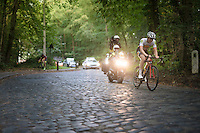 racing the cobbles<br /> <br /> Brussels Cycling Classic 2016