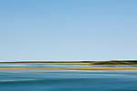 Coastal view in Ipswich, Massachusetts, USA