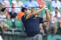 Kevin Kisner (USA) tees off the 1st tee to start his match during Saturday's Round 3 of the 117th U.S. Open Championship 2017 held at Erin Hills, Erin, Wisconsin, USA. 17th June 2017.<br /> Picture: Eoin Clarke | Golffile<br /> <br /> <br /> All photos usage must carry mandatory copyright credit (&copy; Golffile | Eoin Clarke)