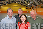 Castleisland Community Centre.committee, l-r, Martin Sheehan,.Philip OConnell, Noreen Broderick.and Jerry OMahony.