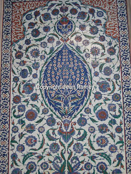 Turkish mosaic tile