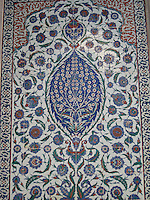 Turkish mosaic tile