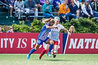Boston, MA - Friday July 07, 2017: Christen Westphal and Julie Ertz during a regular season National Women's Soccer League (NWSL) match between the Boston Breakers and the Chicago Red Stars at Jordan Field.