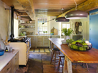 Country Kitchen with a Modern Take