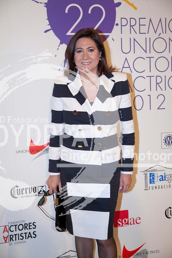03/06/2013 Madrid, Spain Photocall 22 edición de los premios de la Union de Actores en la foto Luisa Martin, la entrega de premios se ha realizado en el Teatro Arteria Coliseum (C) Nacho Lopez/ DyD Fotografos