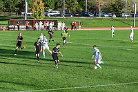 Harvard vs Cornell mens soccer game, Cornell University, Ithaca, New York, USA