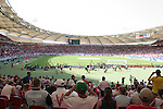 25 June 2006: A wide shot of the stadium before the game. England (1st place in Group B) played Ecuador (2nd place in Group A) at Gottlieb-Daimler Stadion in Stuttgart, Germany in match 51, a Round of 16 game, in the 2006 FIFA World Cup.