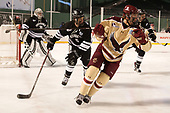 Kyle McKenzie (PC - 5), Graham McPhee (BC - 27) - The Boston College Eagles defeated the Providence College Friars 3-1 (EN) on Sunday, January 8, 2017, at Fenway Park in Boston, Massachusetts.