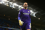 Willy Caballero of Manchester City - Manchester City vs Hull City - Capital One Cup - Etihad Stadium - Manchester - 01/12/2015 Pic Philip Oldham/SportImage