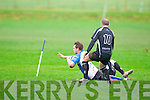Eoin Murphy goes in for Tralee's 2nd try against Cobh's at O'Dowd park, Tralee on Sunday.