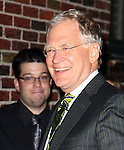 "Celebrities visit ""Late Show with David Letterman"" November 17, 2011"