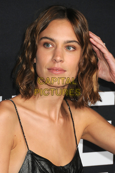 10 February 2016 - Los Angeles, California - Alexa Chung. Saint Laurent At The Palladium held at the Hollywood Palladium. <br /> CAP/ADM/BP<br /> &copy;BP/ADM/Capital Pictures