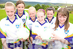 BALL: On the ball at the VHI GAA Cu?l Camp in Keel last week were, front, l-r: Sarah Sayers, Tara Piggott, Martina Carey. Back l-r: Emer Corcoran, Katie Piggott, Clodagh Foley.