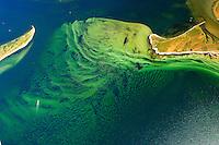 Langenwerder:EUROPA, DEUTSCHLAND, MECKLENBURG- VORPOMMERN 29.06.2005 Zwische der Insel Langenwerder und der Halbinsel Wustrow bilden sich Sandwellen auf dem Meeresboden. Die Stöhmung zwischen den Inseln geben dem Sand immer wieder andere Formen.   Blickrichtung von West  nach  Ost zur Küste. Ostsee, Meer, Wasser, Insel, Mecklenburg.Luftaufnahme, Luftbild,  Luftansicht.c o p y r i g h t : A U F W I N D - L U F T B I L D E R . de.G e r t r u d - B a e u m e r - S t i e g 1 0 2, 2 1 0 3 5 H a m b u r g , G e r m a n y P h o n e + 4 9 (0) 1 7 1 - 6 8 6 6 0 6 9 E m a i l H w e i 1 @ a o l . c o m w w w . a u f w i n d - l u f t b i l d e r . d e.K o n t o : P o s t b a n k H a m b u r g .B l z : 2 0 0 1 0 0 2 0  K o n t o : 5 8 3 6 5 7 2 0 9.C o p y r i g h t n u r f u e r j o u r n a l i s t i s c h Z w e c k e, keine P e r s o e n l i c h ke i t s r e c h t e v o r h a n d e n, V e r o e f f e n t l i c h u n g n u r m i t H o n o r a r n a c h M F M, N a m e n s n e n n u n g u n d B e l e g e x e m p l a r !.