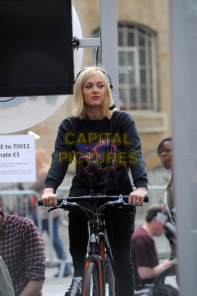 LONDON, UNITED KINGDOM - MARCH 17:  Fearne Cotton at BBC Radio 1 studios for Sport Relief 'Radio Around The World' on March 17, 2014 in London, England.<br /> CAP/AOU<br /> &copy;AOU/Capital Pictures