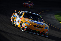 Nov. 9, 2008; Avondale, AZ, USA; NASCAR Sprint Cup Series driver Kyle Busch during the Checker Auto Parts 500 at Phoenix International Raceway. Mandatory Credit: Mark J. Rebilas-