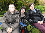 Allyson Maher, Niamh McNally and Jason McGivern at the Tredagh Singers concert at Listoke Gardens. Photo:Colin Bell/pressphotos.ie