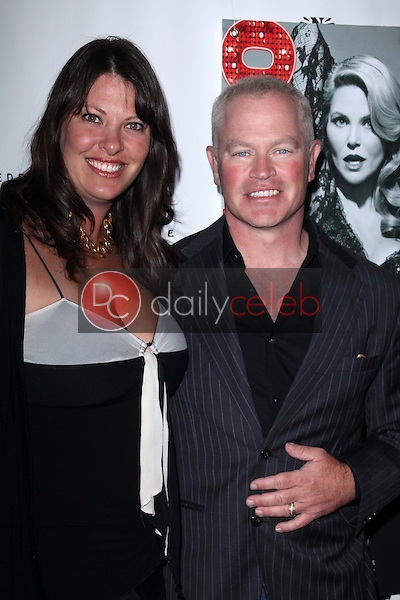 Neal McDonough and wife<br />