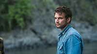 Jungle (2017)<br /> Alex Russell<br /> *Filmstill - Editorial Use Only*<br /> CAP/KFS<br /> Image supplied by Capital Pictures