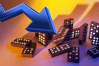 Crisi dell'economica e finanza mondiale.Crisis of the economy and global finance......