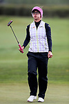 Belen Mozo reacts. McKayson NZ Women's Golf Open, Round Five, Windross Farm Golf Course, Manukau, Auckland, New Zealand, Monday 2nd October 2017.  Photo: Simon Watts/www.bwmedia.co.nz