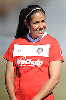 Boyds, Maryland - March 15, 2014. Veronica Perez of the Washington Spirit.  The Washington Spirit during the Meet the Team at the Maryland SoccerPlex.