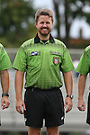 06 September 2015: Fourth Official Tom Richardson. The Duke University Blue Devils hosted the University of California Bears at Koskinen Stadium in Durham, NC in a 2015 NCAA Division I Women's Soccer match. California won the game 3-1.