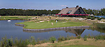 GEMERT-BAKEL - Clubhuis. Accommodatie. met hole 9 van de Executive Course. Golfbaan Stippelberg. COPYRIGHT KOEN SUYK