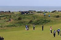 Graeme McDowell (NIR) on the 11th during the preview of the the 148th Open Championship, Portrush golf club, Portrush, Antrim, Northern Ireland. 17/07/2019.<br /> Picture Thos Caffrey / Golffile.ie<br /> <br /> All photo usage must carry mandatory copyright credit (© Golffile | Thos Caffrey)
