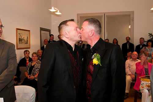 One of the gay weddings I was hired to shoot in Berlin.