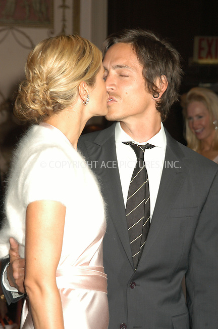 WWW.ACEPIXS.COM . . . . . ....NEW YORK, APRIL 20, 2005....Carolyn Murphy and Brandon Boyd at the Breast Cancer Research Foundation's Annual Red Hot and Pink Party held at the Waldorf Astoria.....Please byline: KRISTIN CALLAHAN - ACE PICTURES.. . . . . . ..Ace Pictures, Inc:  ..Craig Ashby (212) 243-8787..e-mail: picturedesk@acepixs.com..web: http://www.acepixs.com