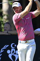 Paul Waring (ENG) on the 11th tee during Thursday's Round 1 of the 2018 Turkish Airlines Open hosted by Regnum Carya Golf &amp; Spa Resort, Antalya, Turkey. 1st November 2018.<br /> Picture: Eoin Clarke | Golffile<br /> <br /> <br /> All photos usage must carry mandatory copyright credit (&copy; Golffile | Eoin Clarke)