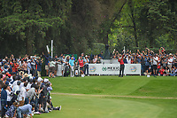 Tiger Woods (USA) hits his tee shot on 17 during round 4 of the World Golf Championships, Mexico, Club De Golf Chapultepec, Mexico City, Mexico. 2/24/2019.<br /> Picture: Golffile | Ken Murray<br /> <br /> <br /> All photo usage must carry mandatory copyright credit (© Golffile | Ken Murray)
